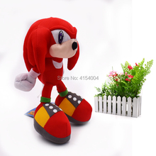 50 pcs/lot Red Sonic Cartoon Animal Stuffed Soft Plush Toys Figure Dolls Gifts for Kids Christmas 820 cm  Gift