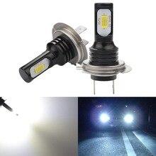 Katur 2pcs Super Bright Canbus H7 LED Bulbs For Car Led Daytime Running Lights Fog Light DRL Auto Lamp 12V 6000K White