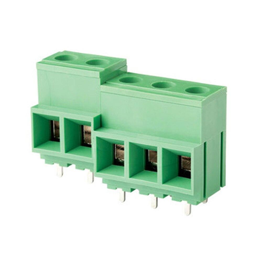 2 poles 10.16mm / 0.25 PCB Screw Terminal Block Connector 60 Units2 poles 10.16mm / 0.25 PCB Screw Terminal Block Connector 60 Units