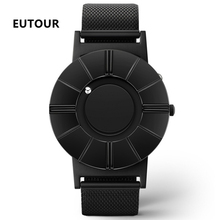 EUTOUR Magnetic Watch Men Luxury Stainless Steel Strap Man Waterproof Quartz Wristwatches Male Clock relogio masculino