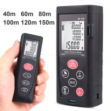 Laser Rangefinders Area/Volume/Distance/Pythagoras Digital Laser Distance Measure Meter 40M 60M 80M 100M 120M 150M laser distance meter uni t ut396b 120m laser digital range finder measure area volume with camera auxiliary usb online function