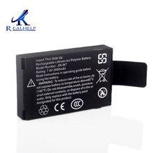 IK7 şarj edilebilir lityum İyon polimer pil 7.4v 2000mah dahili pil şarj edilebilir pil için ZK Iface makinesi