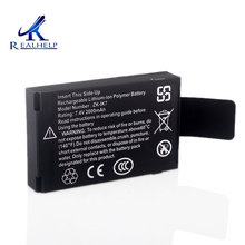 IK7 batterie polymère, Rechargeable, Lithium lon, 7.4v, 2000mah, intégrée, pour Machine ZK Iface