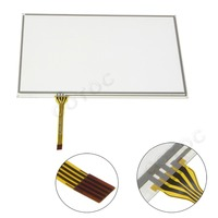 COTOC LTA070B050F Series 7.3 inch Touch Screen Glass Digitizer Navigation for Lexus IS GS RX Toyota Prius MDF