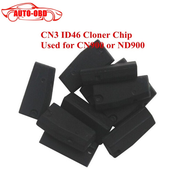 10pcs/lot Wholesale price transponder key chip CN3 TPX3 ID46 for CN900 or ND900 device 10 pieces lot wholesale price brazilian
