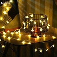 Tanbaby 10M 60LED Globe Ball LED String Light DC5V Star Hairball Holiday Outdoor Christmas New Year