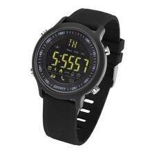 Y6 Reloj Inteligente A Prueba de agua IP68 o 5ATM Pasómetro Mensaje de Espera Ultra-largo Al Aire Libre de Natación Deporte Smartwatch para Android ios