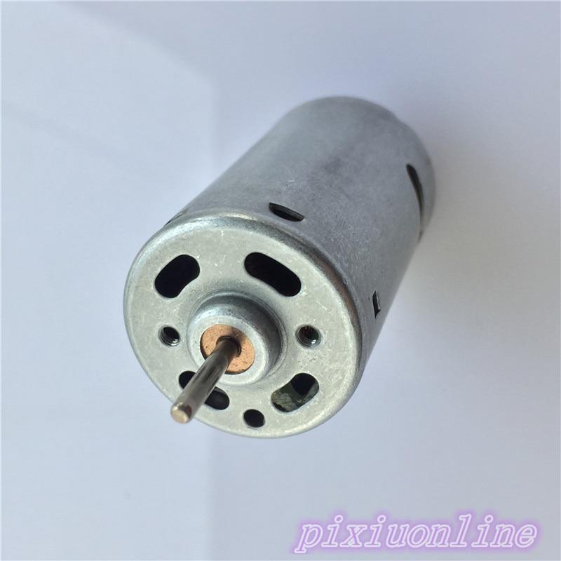 1pcs K215Y DC12-24V 390 DIY Mini DC Motor 13000-26000RPM High Speed Great Torsion Motor Diameter 27.6 MM High Quality On Sale
