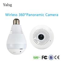 1080P H.264 HD Wifi Bulb Light Fisheye CCTV Camera Motion Sensor Led 3D Panoramic Lamp DVR Wireless CCTV Security Camera
