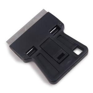 Image 4 - EHDIS 3pcs Auto Razor Scraper With Steel Knife Blade Vinyl Film Car Wrap Squeegee Cutter Window Tint Glue Sticker Remover Tools