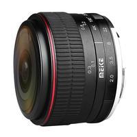 MEIKE MK 6.5mm F2.0 Fisheye Lens Fixed Focus Lens EF M Mount Lense Large Aperture Auto Focus Lens For Canon DSLR Camera