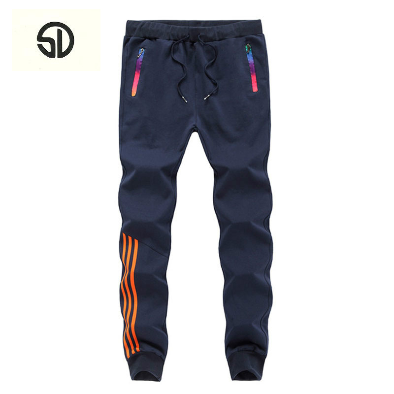 Spring Winter Casual Pants Men Sweat Pants Male Cotton Sportswear Casual Trousers Straight Pants Hip Hop High Street New Brand