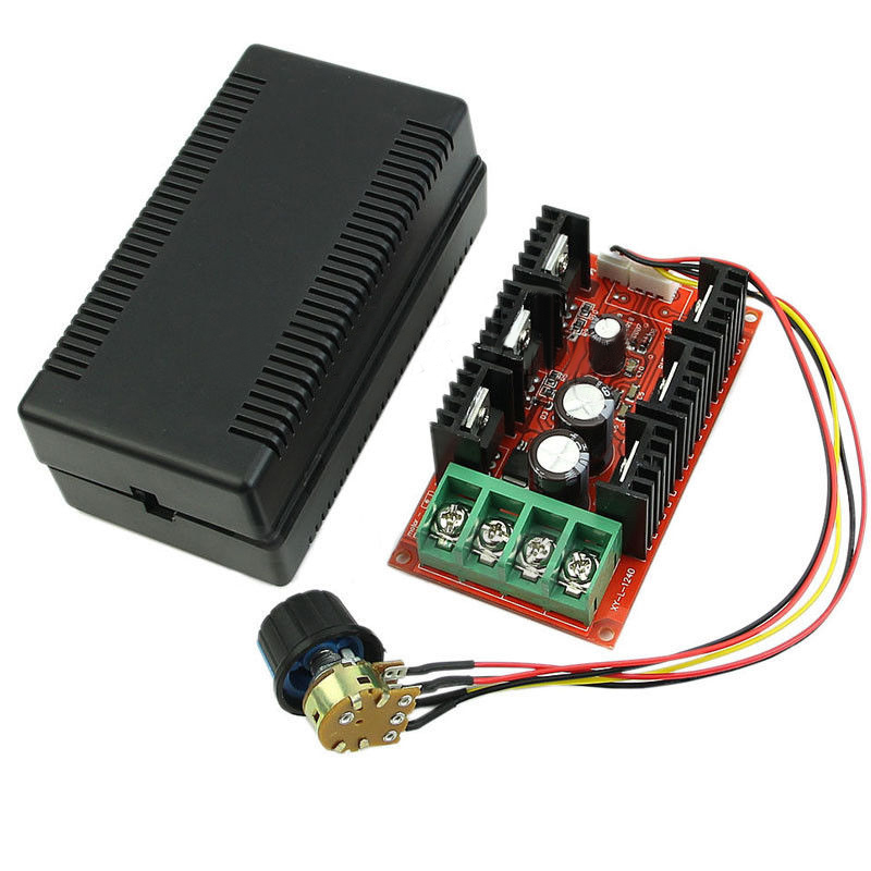 все цены на New DC 12V 24V 48V 2000W MAX 9-50V 40A DC Motor Speed Control PWM HHO RC Controller онлайн