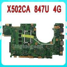 X502CA Laptop Motherboard X402CA REV2.1 mit 847cpu 4g für ASUS Mainboard Komplett getestet