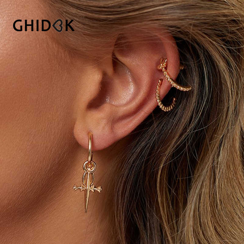 79e0e09617933 Detail Feedback Questions about GHIDBK Gold Color Small Tiny Cross ...