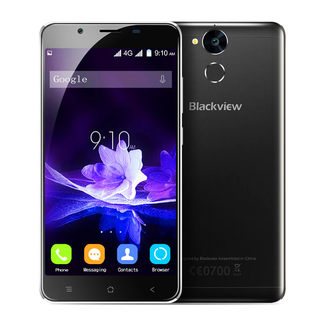 "Blackview P2 5.5 ""смартфон 4 ГБ + 64 ГБ 6000 мАч Android 6.0 MT6750T Восьмиядерный 13.0MP 1920*1080 P 4 г LTE мобильный телефон"
