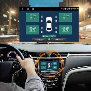 Image 2 - Deelifeアンドロイドtpms車のラジオdvdプレーヤータイヤ空気圧監視システムスペアタイヤ内部外部センサーusb tmps