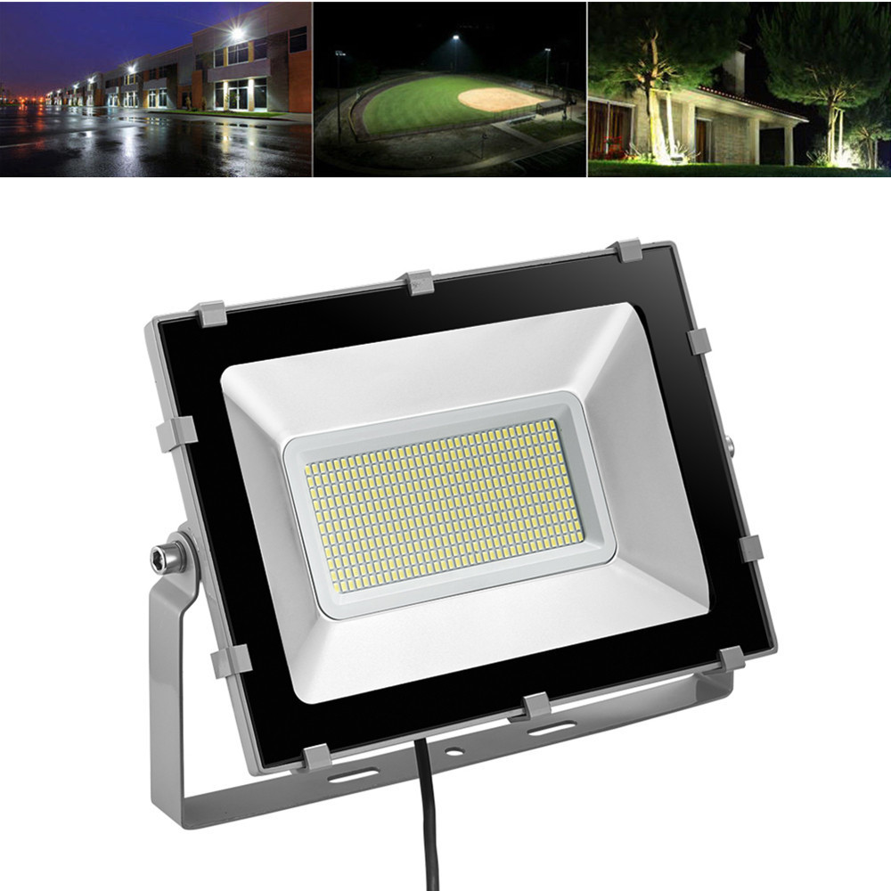 New LED Floodlight 200W 16000LM 220-240V Flood Light LED Lamp SMD 5730 396LED Spotlight Billboard Building Wall Outdoor Lighting