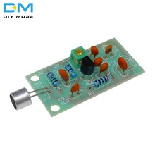 FM Receiver Transmitter Module Mini Wireless Microphone Ham Radio Frequency Regulation Adjustable Sound Board 3V 5V DC DIY Kiy(China)