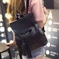 2016 novos Coreano Mini Mochila Mochila Bolsa de ombro bolsa de ombro franjas moda lazer saco de viagem