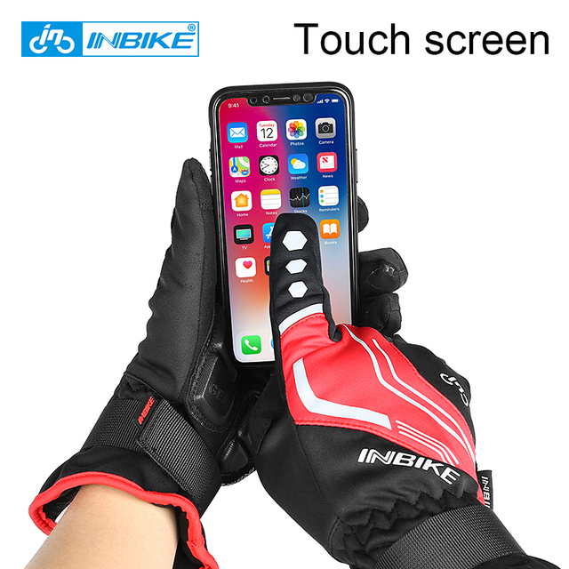 INBIKE 2019 Thermal Full Finger Cycling Gloves
