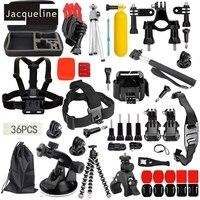 Jacqueline for Accessories Kit Set Bag for Gopro HERO 6 5 3+ 4 Session SJ4000 SJ5000 SJ6000 SJ7000 for SJCAM for Eken H9R