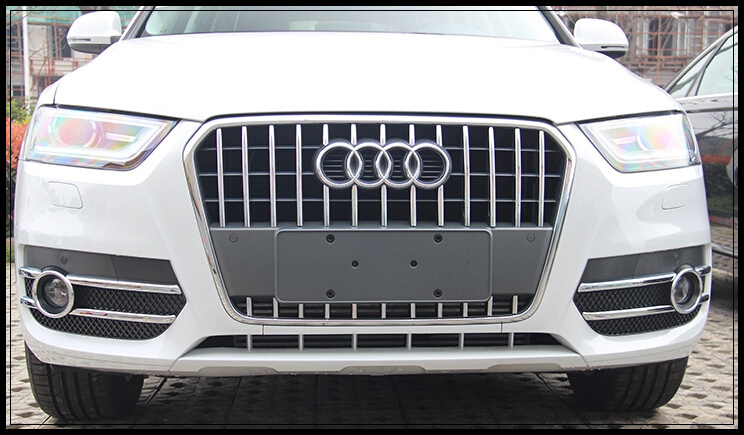 High quality ABS with Chrome 29pcs car Front grill decoration trim, grill strip streamer,grill cover for Audi Q3  2013-2015 hercules abalone bao zhuoyou king of chess strategy puzzle chess parent child desktop toys plastic box