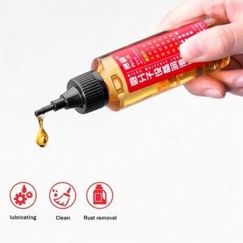 Lubricante de cadena de 60ML, herramienta de reparación, lubricante para coche, mantenimiento de la Moto, máquina de aceite lubricante, limpiador de lubricante de aceite