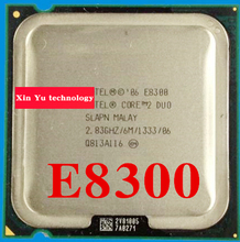 Lifetime warranty Core 2 Duo E8300 2.83GHz 6M 1333 Dual Core desktop processors CPU Socket LGA 775 pin Computer