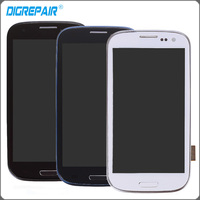 i9305 lcd For Samsung Galaxy S3 i9305 LCD Display Touch Screen With Digitizer Frame Assembly Replacement Parts Blue White Black