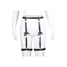 New womens sexy bow training belt leggings tied adult products