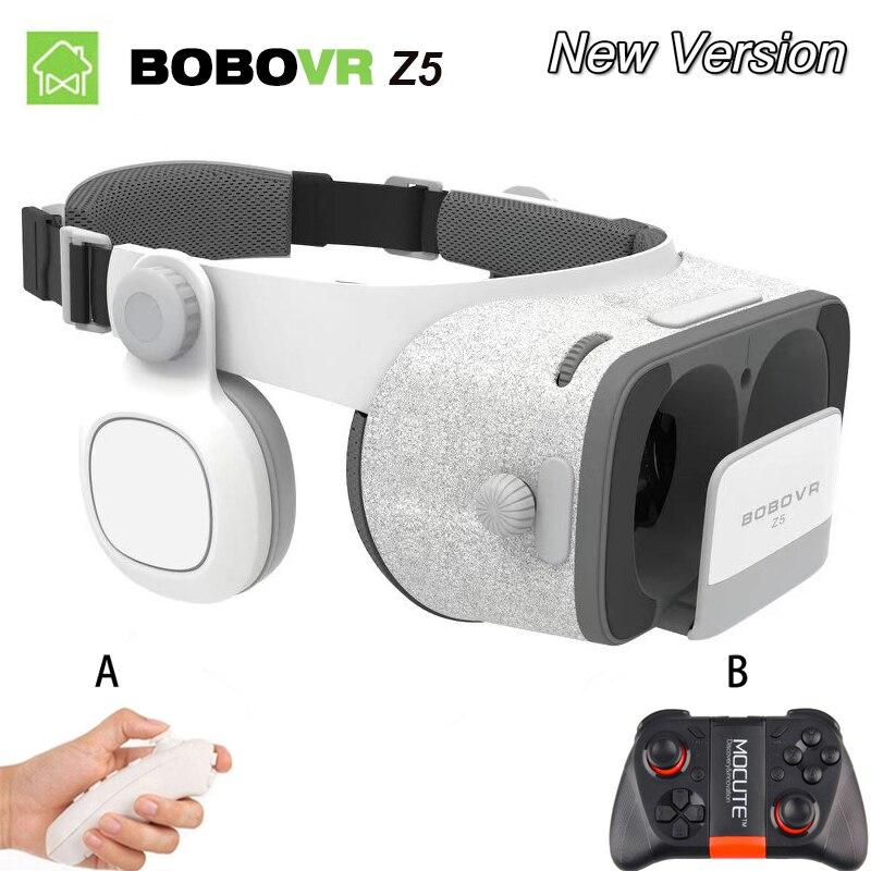 Оригинальный bobovr Z5/Bobo VR Z5 Виртуальная реальность очки 120 FOV 3D Очки Google картона с гарнитура Stereo Box для смартфонов