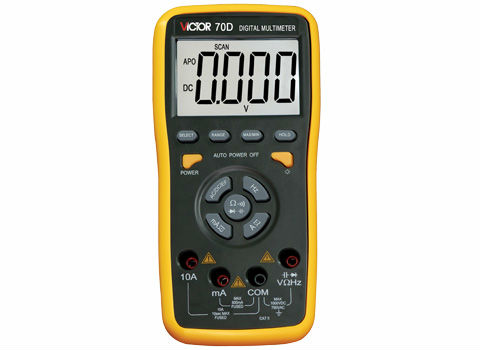 VICTOR VC70D 3 5/6 a digital multimeter resistance capacitance 60000 UF free shipping true rms ammeter multitester victor 70c 3 5 6key touch digital multimeter resistance capacitance victor multimeter