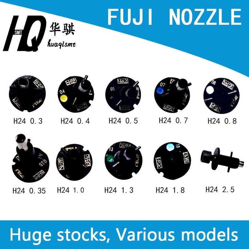 Nxt FUJI Montador chip M3 M6 H24 Bicos 0.3 0.35 0.4 0.5 0.7 1.0 1.3 1.8 2.5 3.7 5.0 10.0 SMT peças de reposição