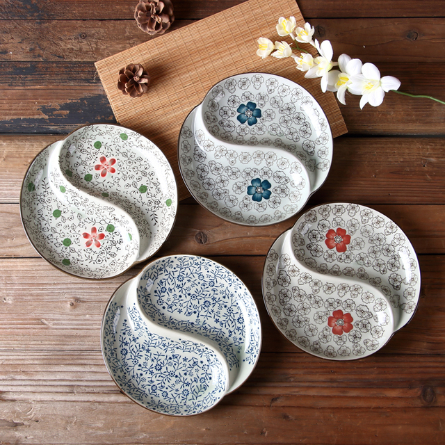 Dishes And Plates Sets Ceramic Sushi Plate Buffet Dishes 4040 Inch Inspiration Patterned Dinnerware Sets