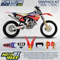 CustomTeam Graphics & Backgrounds Decals 3M  MT Stickers Kit For Husqvarna FE TE FC TC 250 350 450 500 530