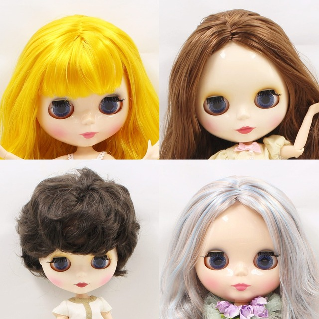 Build Your Custom Neo Blythe Doll From Plump, Normal and Man Body Types