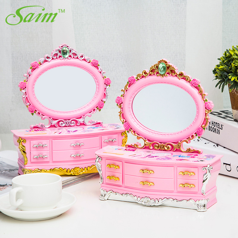 Saim Rotating Music Box Decoration Dancing Ballet Girl Music Jewelry Box Cute Musical Box Children Girl