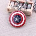 Vengadores Capitán América Shield Metal del Acoplamiento de Cadena de Joyería de La vendimia Collar Neclace Hombres Bestfriends Gros Bijoux Collier Femme