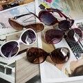 NewFashion Mujeres calientes gafas de Sol Más Nuevas Mujeres Vintage Retro gafas de Sol de la lente gafas de Sol Gafas de Alta Calidad