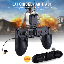 Get more info on the W12 PUGB Mobile Game Controller Free Fire PUBG Mobile Joystick Gamepad Metal L1 R1 Button for iPhone Gaming Pad