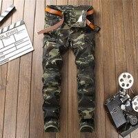 jean homme jeans for men masculina Camouflage jeans men modis clothes hombre roupas ripped streetwear denim man pants calca