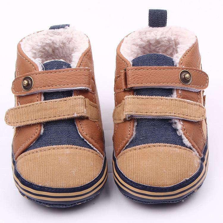 11-13 cm Winter Jungen Weiche Sohle Schuhe Warme Kinder Erste - Babyschuhe - Foto 2
