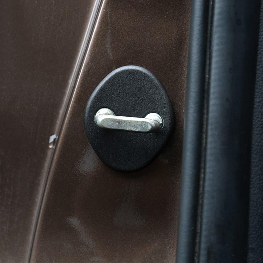 Крышка дверного замка автомобиля для Hyundai Tucson IX35 I30 Elantra Sonata Azera Veracruz для Kia Sportage R 2010-2014 4 шт. в комплекте