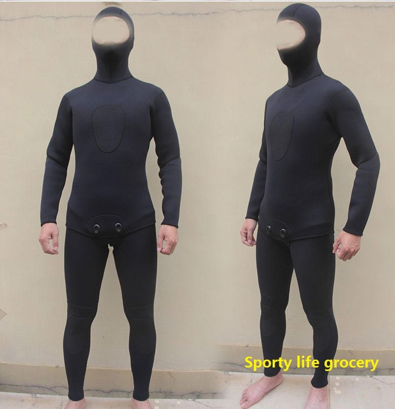Neoprene swimsuits scuba diving wetsuit Men's diving suit neoprene speafishing wetsuit 3mm tickness женская футболка hic t txt hic 14581