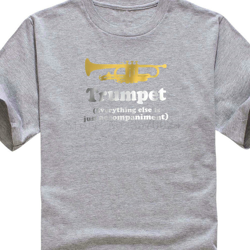 Printed T Shirts Online Fashion Trumpet Gift Funny Men Short O Neck T Shirts Men And Woman T Shirt Free Shipping in T Shirts from Men 39 s Clothing