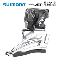 Shimano Deore XT FD M8025 2x11s MTB BIKE High Clamp Down Swing/Dual Pull Front Derailleur Shimano genuine goods bike accessories