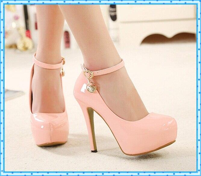 8797fb2b Para mujer zapatos de tacones de color rosa bombas mujer zapatos de  plataforma de tacón alto bombas de las mujeres zapatos de vestir negro sexy  bombas de ...