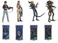 NECA ALIENS LT.Ellen Ripley Private Jenette Vasquez Xenomorph Warrior PVC Action Figure Collectible Toy
