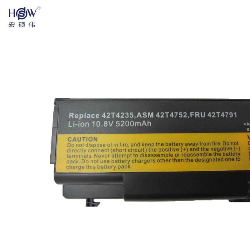 Batería para portátil HSW para Lenovo ThinkPad E40 E50 L412 L420 - Accesorios para laptop - foto 3